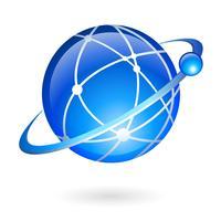 Globale Verbindungs- und Navigationstechnologie vektor