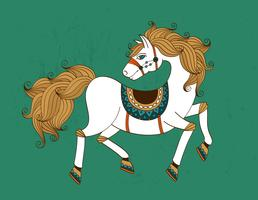 Pferd Symbol vektor