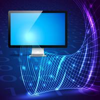 Digital teknik koncept