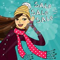 Wintereinkaufsverkauf