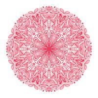 dekoratives rundes Muster