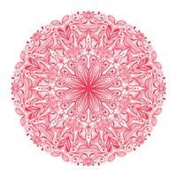 prydnadsrunda mönster vektor