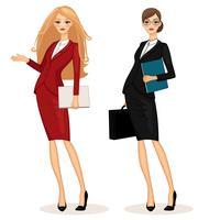 Geschäftsfrau vektor