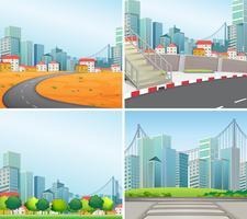 City scener
