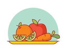 Gesundes Essen Vektor