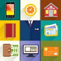 Sammlung von Unternehmer-Icons