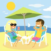 Strand Sommerferien