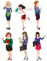 Unterschiedliche Geschäftsfrauen vektor