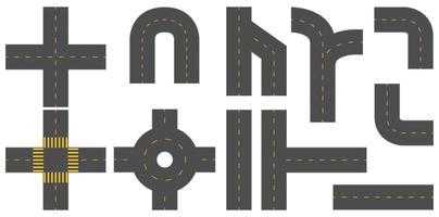 Straßen vektor