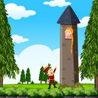 Prins och prinsessa i tornet