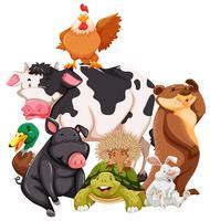 djur vektor