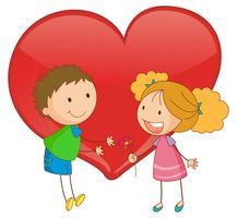 Junge Liebe vektor
