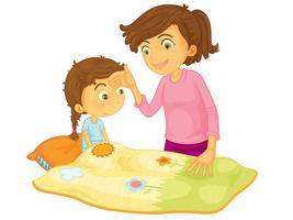 Kinderabbildung vektor