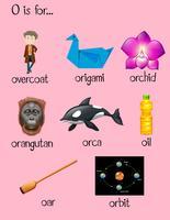 Många ord börjar med bokstaven O