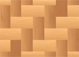 Eine Draufsicht auf einen Holztisch vektor