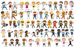 Unterschiedlicher Charakter vieler Berufe