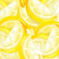 Schließen Sie herauf gelbe Zitronenschablone vektor