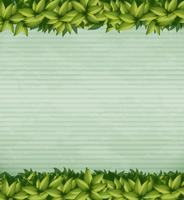 Natur-Grünpflanze-Anmerkungs-Schablone