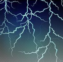 Backgroud-Vorlage mit Blitzen