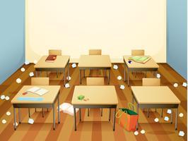 Eine schmutzige Klassenvorlage