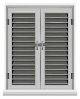 Fenster in grauer Farbe