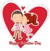 Frohen Valentinstag vektor