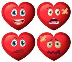 Sats med hjärttecken