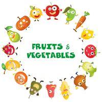 Färska frukter och grönsaker
