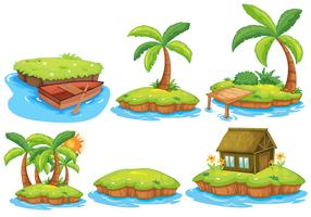Inseln vektor