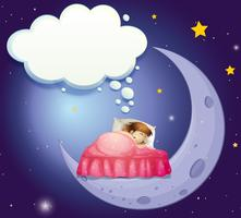 Süße Träume vektor
