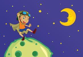 Pojke på månen