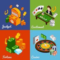 Casino isometrischer Satz