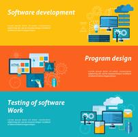 Programutvecklingsbanneruppsättning