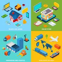 Online-Shop und Lieferung