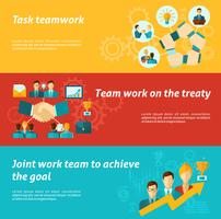 Teamwork-Banner-Set