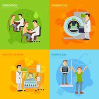 Sjukhusbehandlingskoncept