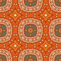 Färgglatt stammar etniskt sömlöst mönster.