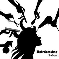 Beauty-Salon-Konzept