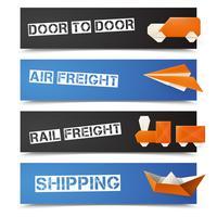 Origami Logistische Banner