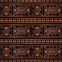 färgglada ljusa etniska sömlösa randiga mönster bakgrund i orange och svarta färger