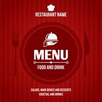 Restaurant Menü Design vektor