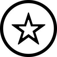 Vektor-Stern-Symbol vektor