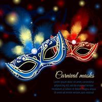 Party Maske Hintergrund