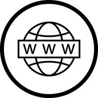 Vektor-Web-Suche-Symbol