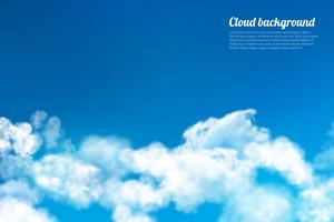 Sky moln bakgrund vektor