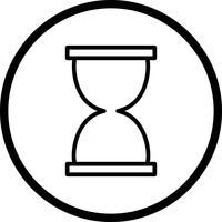 Sanduhr-Vektor-Symbol