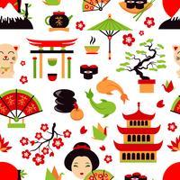 Japan nahtloses Muster