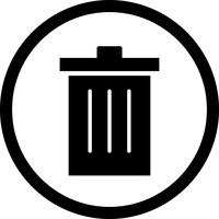 Vektor-Symbol löschen