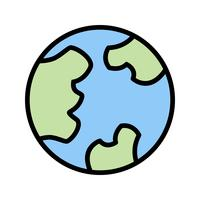 Globe vektor ikon