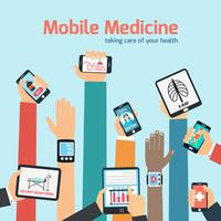 Mobiles Gesundheitskonzept